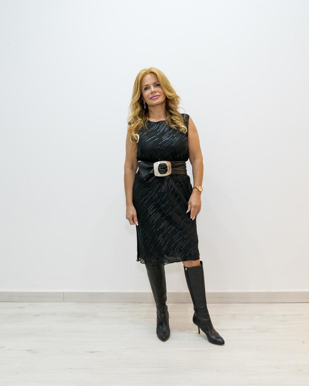 Vestido DKNY negro