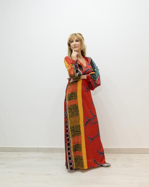 Vestido multicolor TETE BY ODETTE