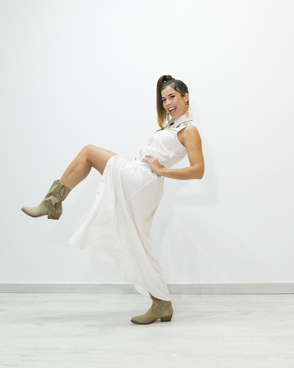 Vestido blanco MITAWA