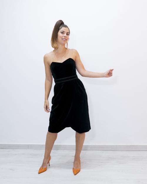 Vestido terciopelo Talla 42 Vintage