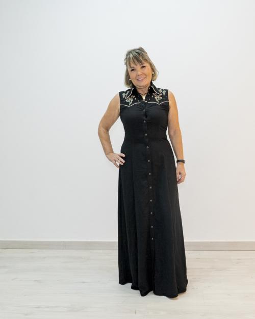 Vestido negro MITAWA