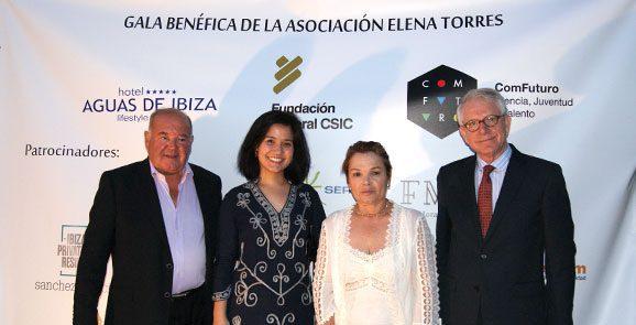 La I Gala Benéfica de Mallorca de Asociación Elena Torres Gutiérrez celebra en Es Baluard recauda 27.500 euros