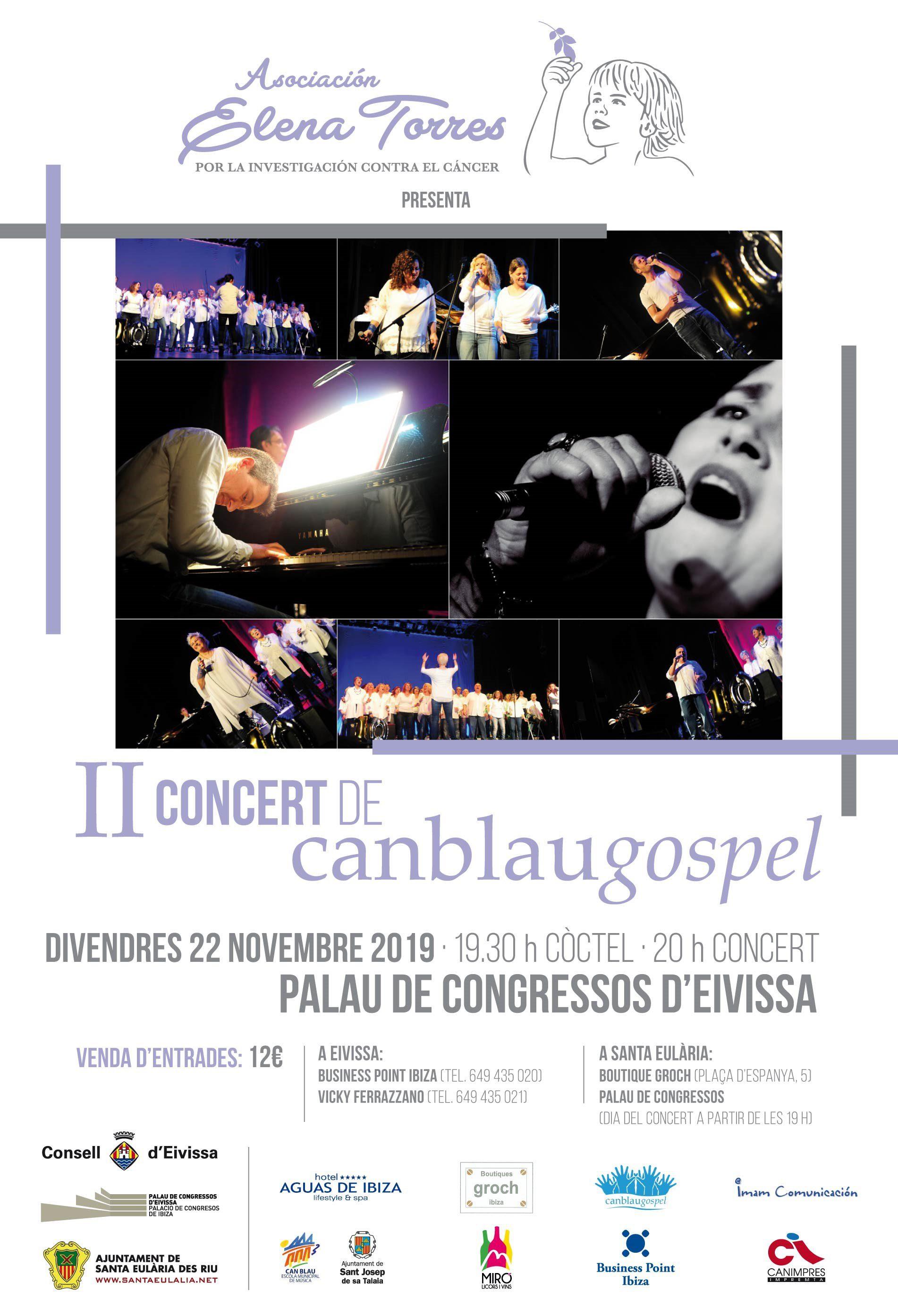 II Concierto Gospel - Asociación Elena Torres